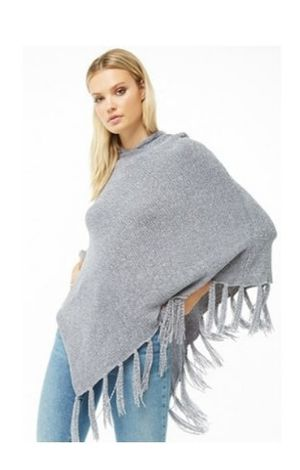 Hooded Chinelle Fringe Trim Poncho. Oliver and Grey. One size $8 Each. for Sale in Cutler Bay, FL