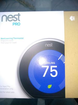 Thermostat top of the line I install for $ 350.00 for Sale in Inglewood, CA