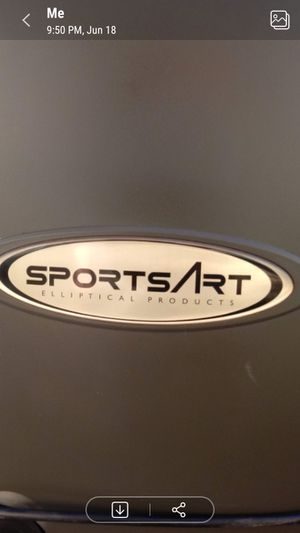 Sportsart 807p elliptical for Sale in Midland, TX