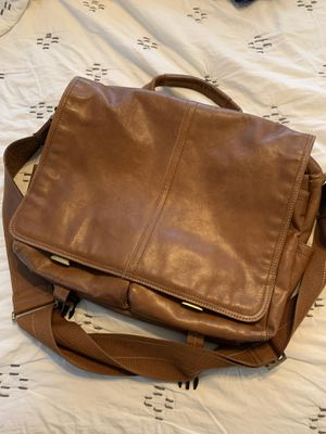 Leather laptop/messenger bag for Sale in Gilbert, AZ