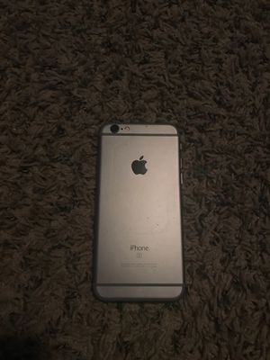 iPhone 6s with a case for Sale in Parsons, KS