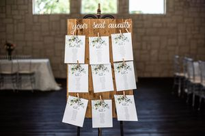 Seating chart - wedding for Sale in Hurst, TX