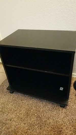 No brand small black shelf for Sale in Caldwell, ID