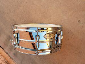 Pearl Senitone chrome snare drum for Sale in Avondale, AZ