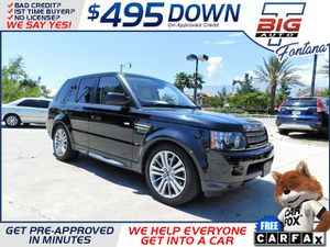 2013 Land Rover Range Rover Sport for Sale in Fontana, CA