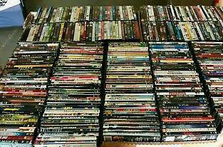 50 DVDs and 75 music cds clearance