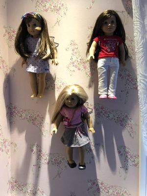 Display for American girl doll. $ 15.00 each one. for Sale in Miami, FL