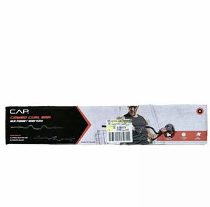 """CAP Combo Curl Bar Holds Standard 1"""" Weight Lifting Plates for Sale in Union City, NJ"""
