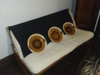 Futon fold out bed / couch for Sale in St. Louis,  MO