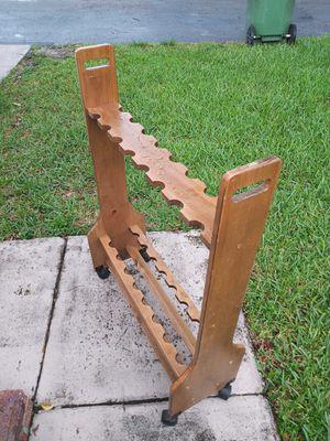 Solid wood fishing rod holder for Sale in Pembroke Pines, FL