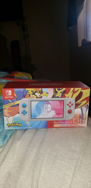 Limited edition pokemon switch lite for Sale in Mesa, AZ