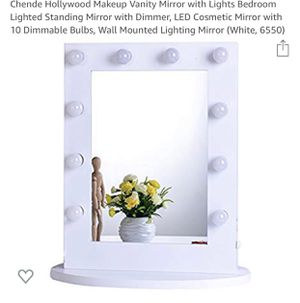 makeup mirror with lights for Sale in Windermere, FL