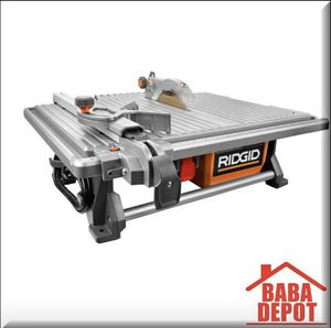 6.5 Amp Corded 7 in. Table Top Wet Tile Saw for Sale in St. Louis, MO