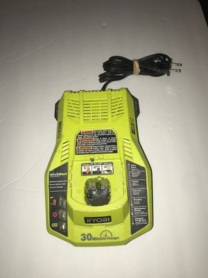 RYOBI One+ P117 Class 2 18v Ni-Cd 30 Minute Battery Charger for Sale in Virginia Beach, VA