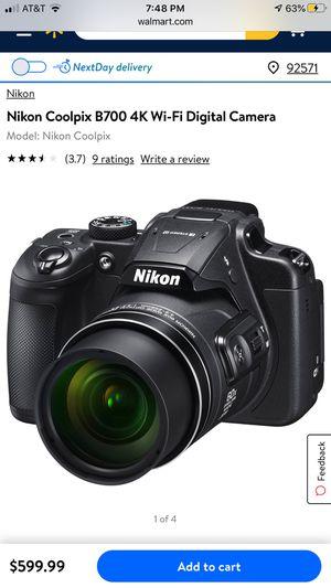 nikon coolpix B700 4k wifi digital camera for Sale in Perris, CA