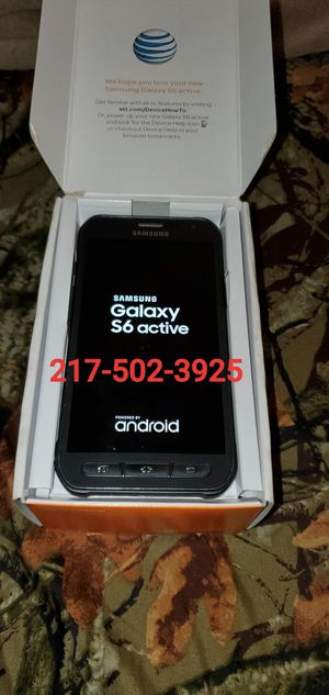 Unlocked Samsung Galaxy s6 active for Sale in Grandview, IL