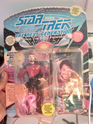 Star Trek The Next Generation Action Figures Collectable for Sale in Kent, WA