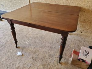 Antique table on wheels for Sale in GLMN HOT SPGS, CA