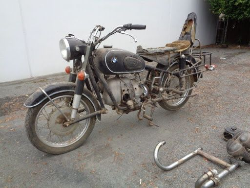 Wanted- Old BMW motorcycle or parts