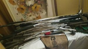 Huge lot of golf clubs various brands take them all for $10 for Sale in Hollywood, FL