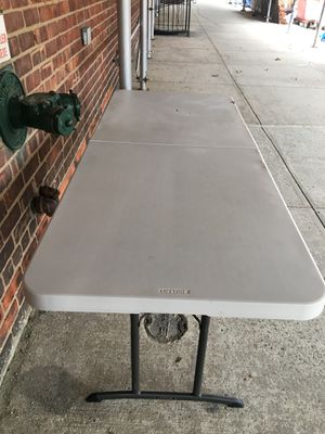 Lifetime table 6 feet for Sale in Queens, NY