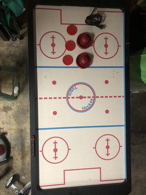 Miniature foldable AIR HOCKEY TABLE Comes complete for Sale in ROWLAND HGHTS, CA