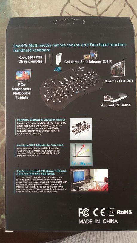 Mini keyboard PERFECT FOR TV BOX.