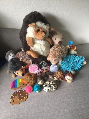 Hedgehog toys (5/7) for Sale in Seattle, WA