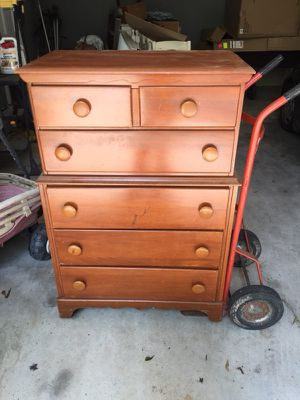 All wood chest of drawers for Sale in Dublin, GA