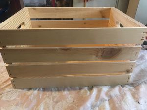 Large wooden crate for Sale in Los Angeles, CA