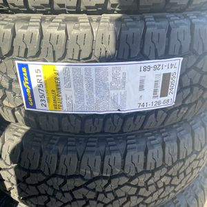P235/75R15 Good Year Trail runner AT (SPECIAL) for Sale in Whittier, CA