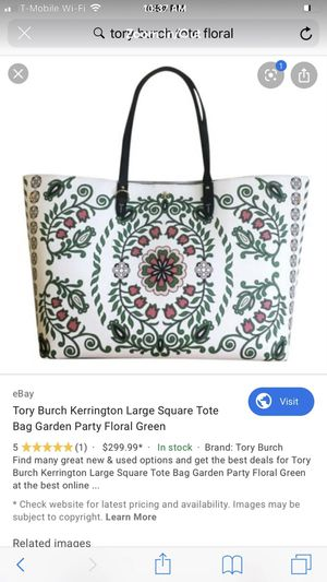 Tory Burch large tote for Sale in Houston, TX