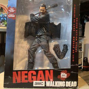 "Walking Dead Negan & Lucille 10"" Deluxe Figure NEW for Sale in Old Bridge Township, NJ"