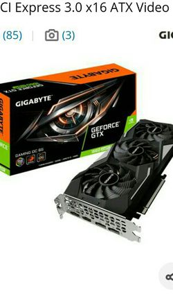 Gigabyte 1660 Super Gaming OC 6gb RGB for Sale in Spokane,  WA