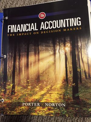 Financial accounting 10 edition for Sale in Salt Lake City, UT