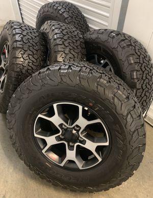 Jeep Wrangler Rubicon Wheels Rims Tires 2020 NEW for Sale in Carson, CA