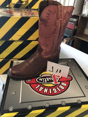 Justin boots for Sale in Dallas, TX