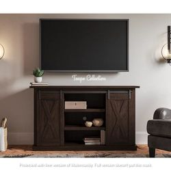 NEW, WEATHERED OAK COLOR, 54 inchTV STAND, SKU#TC283. for Sale in Westminster,  CA