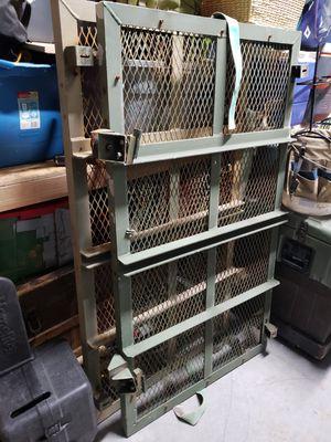 Army truck rack. Tool rack. Ladder rack. for Sale in North Las Vegas, NV