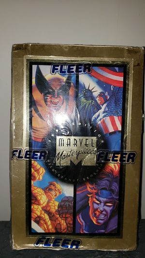 1994 Fleer Marvel Masterpieces Trading Card Factory Sealed Unopened for Sale in Meriden, CT