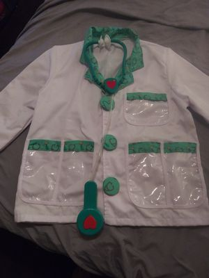 Kidz Dodgers costume asking $6jacket and telescope for Sale in Riverside, CA