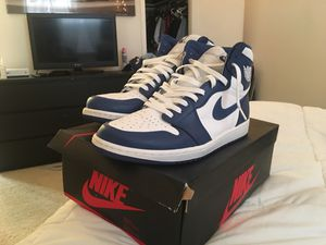Jordan 1 Nike Blue size 13 for Sale in Gaithersburg, MD