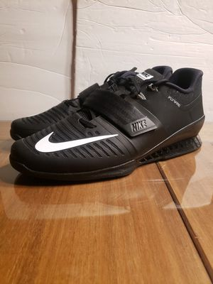 NIKE ROMALEOS 3 BLACK WEIGHTLIFTING SHOES MENS...SZ 14...BRAND NEW for Sale in Bakersfield, CA