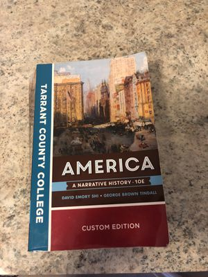 America a narrative history for Sale in Euless, TX