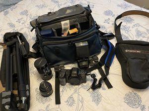 Camera bundle(Minolta MAXXUM 8000i) Film, NOT digital! for Sale in Phoenix, AZ