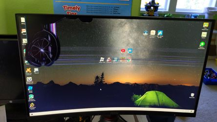 MSI 27 in cured led monitor for Sale in Portland,  OR
