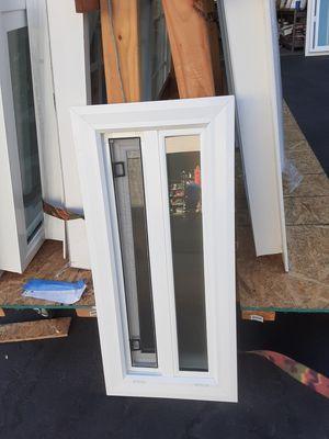 """12x29 3/4"""" retro fit window double glass OBS with slider/ ventana nueva de doble vidrio con OBS de 12x29 3/4 for Sale in Chula Vista, CA"""