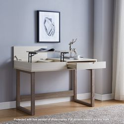 New, Ivory and Dark Taupe, Home Office Desk, SKU#TC192477 for Sale in Westminster,  CA