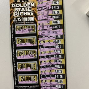 $1000 winning scratchers ticket for only $700 for Sale in Los Angeles, CA