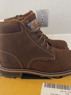 Brand New Carhartt Work Boots For Men . Size 10. Soft Toe. Waterproof for Sale in Riverside,  CA